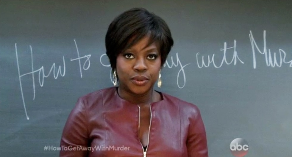 How To Get Away With Murder, with Viola Davis